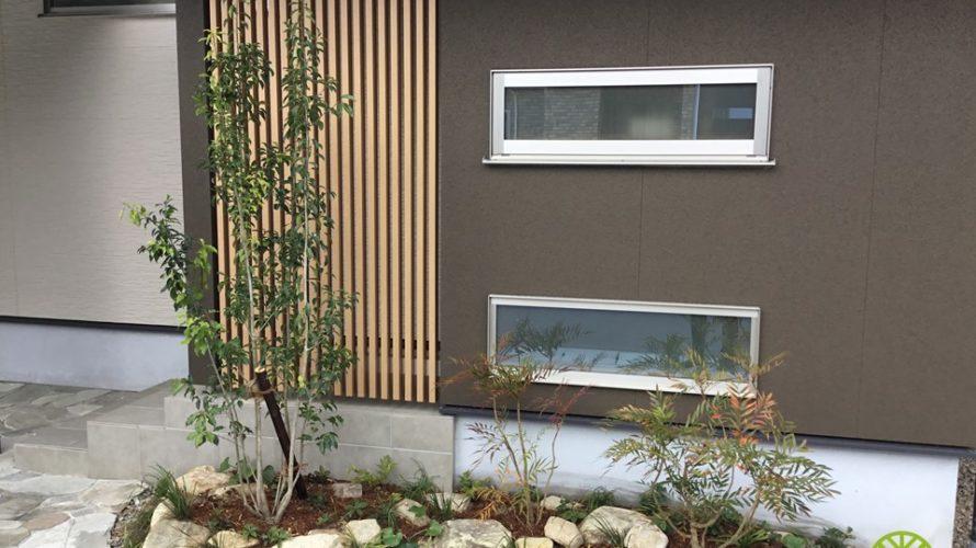 石川県に合った季節ごとに楽しめる植物のご提案【新築外構 K様邸】