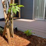 ウッドデッキと樹木と花壇のある暮らし ~デザイン性、住み心地の良さを兼ね備えた外構づくり~【新築外構 S様邸】